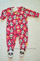 Все размеры Микрофлисовые  пижамы,  слипы,  человечки картерс Carters.