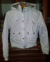 Куртка демисезонная белая