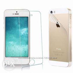 Закаленное защитное стекло для iPhone 5  5s  5c