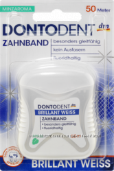 Dontodent Зубна нитка Brillant Weiss 50м.