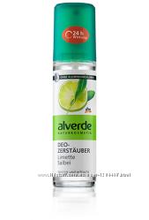 Alverde-натуральна косметика Дезодоранти аерозольні 3 види 75мл.