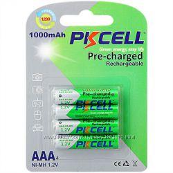 Аккумулятор PKCELL AAА 1000 mAh