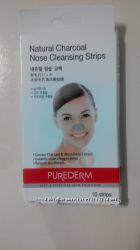 Полоски для носа &acutePurederm&acute, очищающие 12 шт
