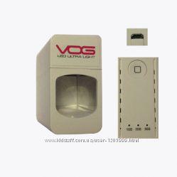 USB UV LED Лампа VOG для гель лака на один палец. Мощность 3 Ватта