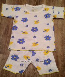 Детская пижама, возраст 2-5 лет
