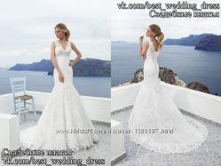 Нова Кружевна весільна сукня 2015 Русалка Сільвія весільний салон Bride