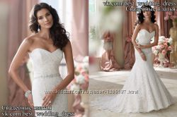 Нове Мереживне весільне плаття 2015 А-силует Cheri весільний салон Bride