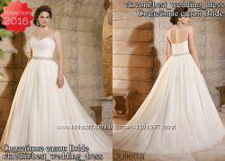 Нова Пишна мереживна весільна сукня 2016 Julietta весільний салон Bride