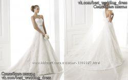 Нова Пишна мереживна весільна сукня 2015 Басма весільний салон Bride