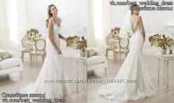 Нова Мереживна весільна сукня Русалка Ларен весільний салон Bride