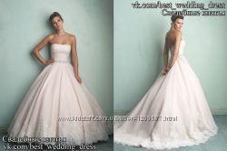 Нова Пишна мереживна весільна сукня 2015 Аlure весільний салон Bride