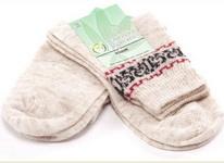 Носки женские с волокнами конопли.