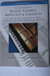 Книга The Complete Book of Scales, Chords, Arpeggios & Cadences