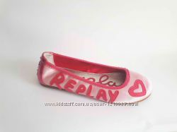 новые балетки туфли мокасины Replay р 37, 5 38