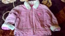 Вильветовая Куртка деми на девочку