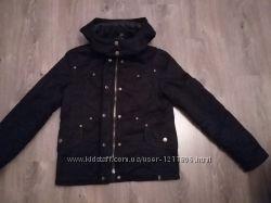 Женская фирменная куртка Junker с жилетом на флисе подстежка размер S
