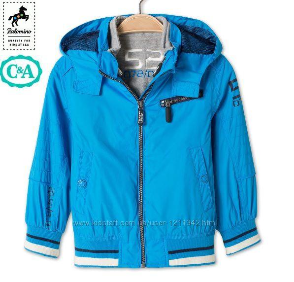 Куртка 3в1 для мальчика C&A Palomino 92, 116. Германия