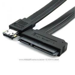 Кабель eSata USB 2. 0 Combo в 2. 5 3. 5 SATA 22 pin для жестких дисков