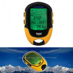 Многофункциональный SUNROAD FR500 альтиметр, барометр, термометр, компас, м