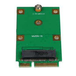 Переходник Адаптер mSATA Mini PCI-E - to NGFF M. 2 B Key SATA-Based