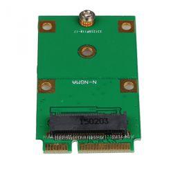 Переходник Адаптер mSATA Mini PCI-E - to NGFF M. 2 B Key SATA-Based