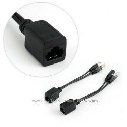 Пассивный комплект PoE Power over Ethernet инжектор и сплиттер