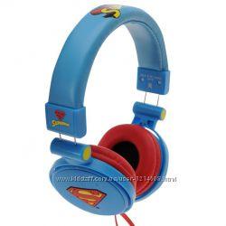 Наушники детские Холодное Сердце, Супермен