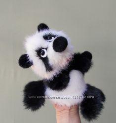 Малышка  панда - игрушка перчатка для домашнего кукольного театра.