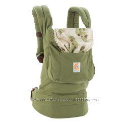 Эргономический рюкзак Ergobaby Carrier Organic Сollection Green Zen
