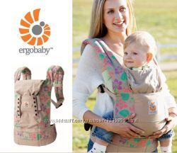 Эргономический рюкзак Ergobaby Carrier Organic Сollection Hibiscus