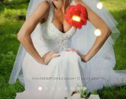 Свадебное платье на худенькую