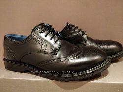 Туфли-броги Next кожа идеальное состояние