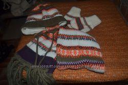шапочки та прекрасний зимовий набір для хлопчика