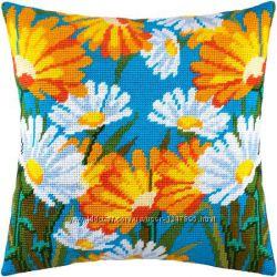 Набор для вышивки подушки нитками