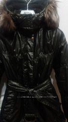 Пальто LENNE 140-146  рост идеальное состояние 330 гр утеплитель зима