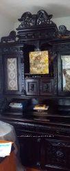 Продам буфет-шкаф XIX столетия, дуб