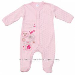 Человечки для новорожденных ТМ Garden Baby, Мини, Smil