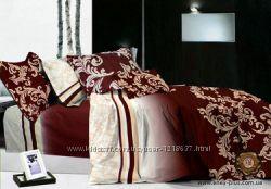 Полуторный комплект постельного белья, сатин