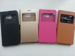Чехол-книжечка для Samsung Galaxy S6 четыри цвета