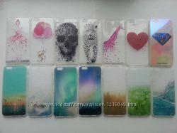 Прозрачные силиконовые чехлы iphone 6 6S в 3D