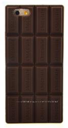 Силиконовый чехол-шоколадка для iphone 4 4s 5 5s 6 6S с ароматом шоколада