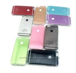 Чехол силиконовый для Iphone 6 6S переливающий