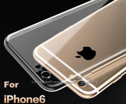 Прозрачный силиконовый чехол iphone 6 6S