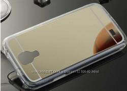 Зеркальный чехол Samsung S4i-9500 Три Цвета Качество