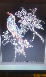 Картина из страз Райская птица.