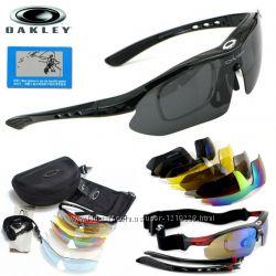Тактические очки Oakley Polarized с 5-ти линзами
