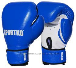 Боксерские перчатки 8, 10, 12 ун.