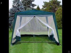 Павильон палатка с москитной сеткой на молнии