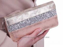 177318b399b4 Кошелек клатч женский David Jones Девид Джонс гаманець жіночий срібний