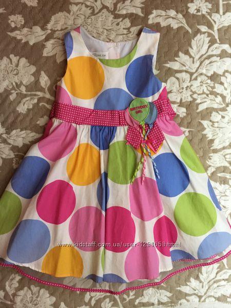 Платье для именинницы Bonnie Jean, 4-5 лет